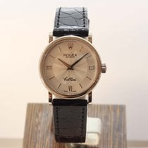 Rolex Cellini Time Witgoud 26mm Zilver Romeins