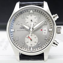 IWC IW387809 Pilot Spitfire Chronograph SS Silver Dial (27898)