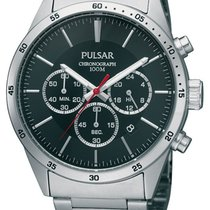 Pulsar Steel 42mm Quartz PT3005X1 new