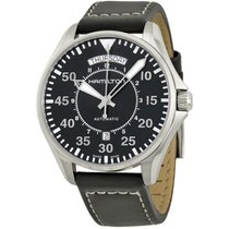 Hamilton Men's H64615735 Khaki Aviation Pilot Day Date Auto Watch