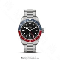 Tudor Black Bay GMT новые 41mm Сталь