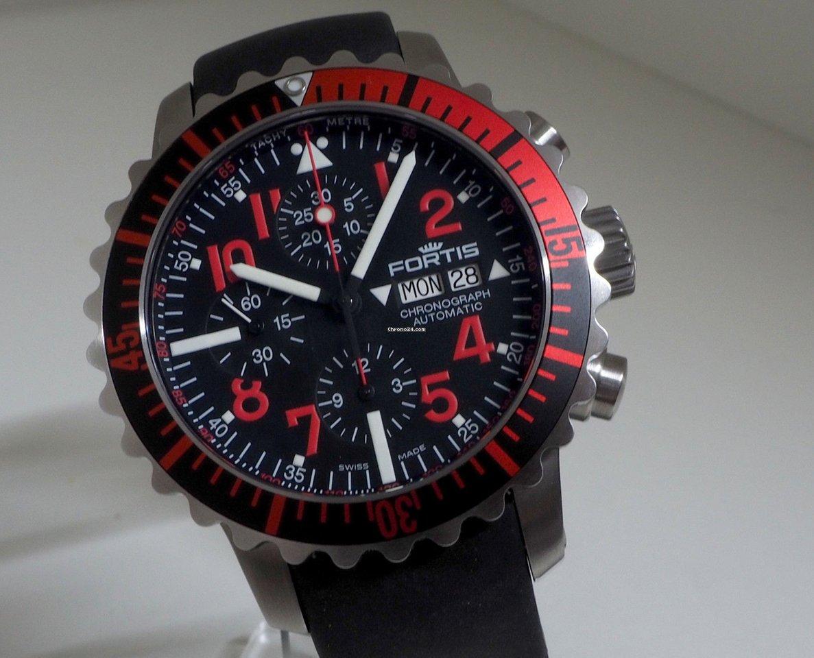 Použité hodinky Fortis Marinemaster  4f64d556a3