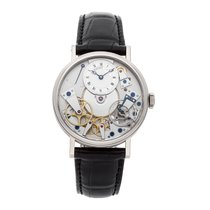 Breguet 40mm Manual winding pre-owned Tradition Silver