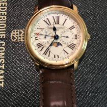 Frederique Constant Classics Business Timer Gold/Steel 40mm White Roman numerals United States of America, New York, queens