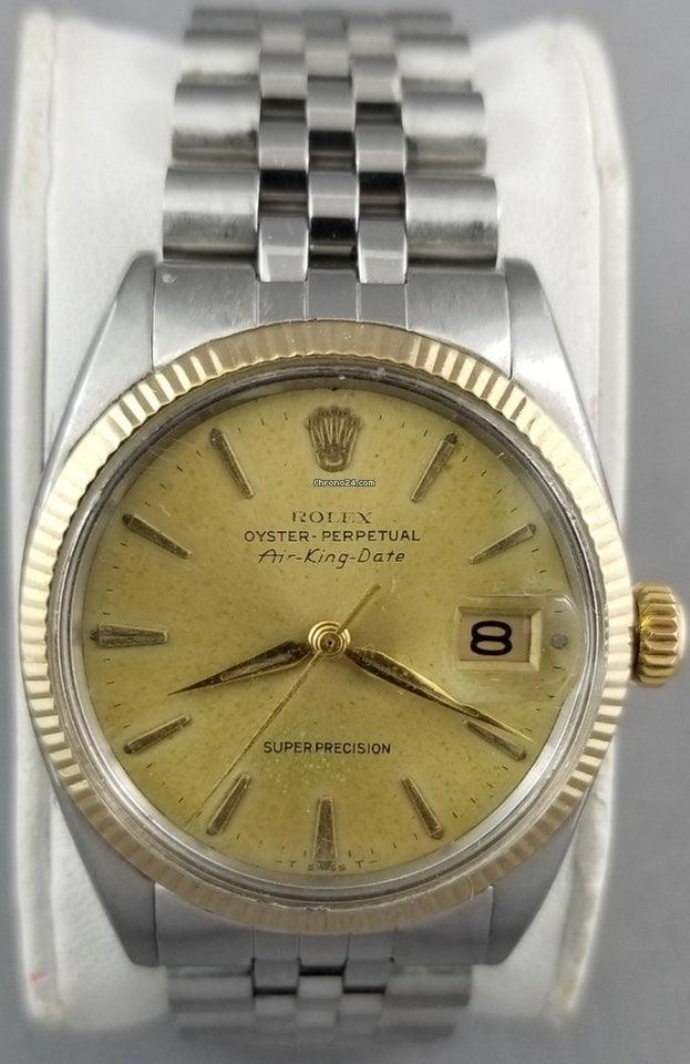 Rolex Air King Date 5701 1965 rabljen