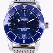 Breitling Superocean Héritage II 42 Stahl 42mm Blau Keine Ziffern Deutschland, Langenfeld
