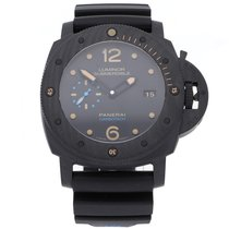 Panerai Luminor Submersible 1950 3 Days Automatic 47mm Black Arabic numerals United States of America, Pennsylvania, Bala Cynwyd