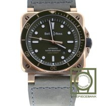Bell & Ross Bronze Automatic Green 42mm new BR 03