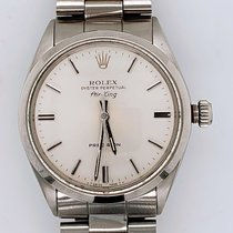Rolex Air King Precision Steel 34mm Silver No numerals United States of America, New York, New York