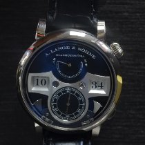 A. Lange & Söhne Zeitwerk White gold 44.2mm Black Arabic numerals United States of America, New York, New York