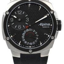 Alpina Startimer Pilot Manufacture Steel Black