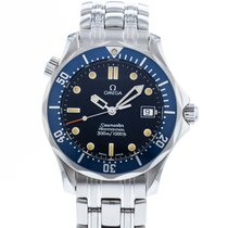 Omega Seamaster Diver 300 M Steel 36mm Blue United States of America, Georgia, Atlanta