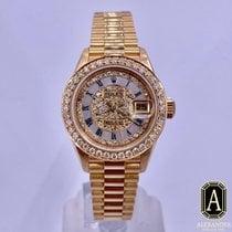 Rolex Lady-Datejust Oro amarillo 26mm Madreperla Romanos