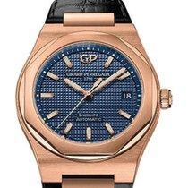 Girard Perregaux Laureato Or rose 38mm Bleu