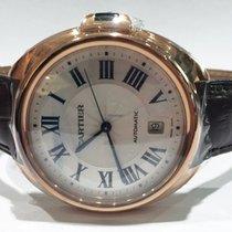 Cartier neu Automatik 40mm Roségold Saphirglas