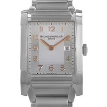 Baume & Mercier Hampton Womens Stainless Steel Quartz Watch...