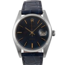Rolex Oysterdate  Steel with Blue Dial, 6694