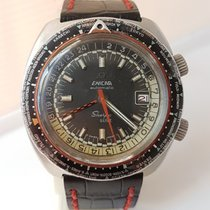 Enicar Steel 43mm Automatic Sherpa pre-owned Singapore, Singapore