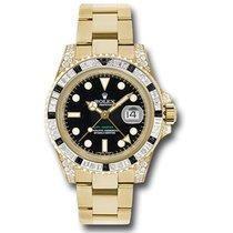 Rolex 116758SANR Gelbgold GMT-Master II 40mm neu