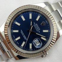 Rolex Datejust II - 116334 - Blue Dial
