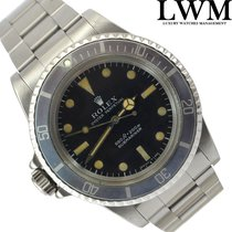 Rolex Submariner 5513 Left Up Side Down unique exemplary 1977's