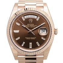 勞力士 (Rolex) Day-date 18k Rose Gold Brown Automatic 228235BR