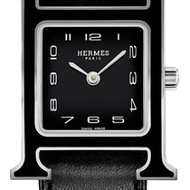 Hermès Heure H Steel 21mm Black United States of America, New York, Airmont
