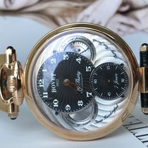 Bovet Red gold Manual winding Black Arabic numerals 42mm new