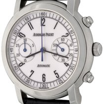 Audemars Piguet Jules Audemars Steel 38.6mm White Arabic numerals United States of America, Texas, Dallas