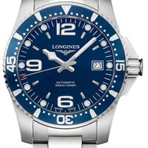 Longines HydroConquest Steel 39mm Blue United States of America, New York, Airmont