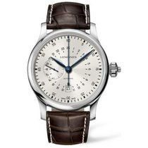 Longines Twenty-Four Hours Steel 47.5mm Silver Arabic numerals