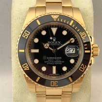 Rolex Submariner Date Yellow Gold 116618LN