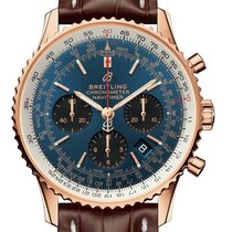 Breitling RB0121211C1P2 Red gold 2020 Navitimer 1 B01 Chronograph 43 43mm new