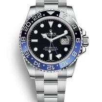 Rolex GMT-Master II Steel 40mm Black No numerals United States of America, California, Costa Mesa