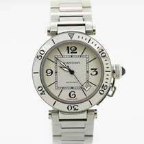 Cartier Pasha de Cartier 40 mm Stainless Steel Ref 2790, 2Y...