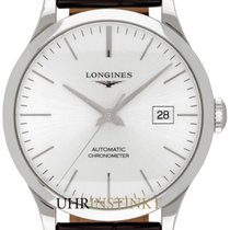 Longines Record Steel 40,00mm Silver