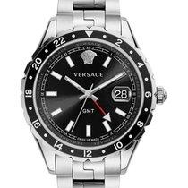 Versace V11100017 Hellenyium GMT Black Dial