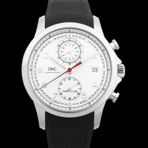 IWC Portuguese Yacht Club Chronograph Steel 43.50mm Silver United States of America, California, San Mateo