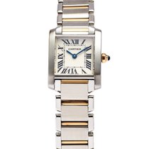 Cartier Tank Francaise Steel & Gold Lady's