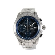 TAG Heuer Steel 40.5mm Automatic Cjf2114-0 pre-owned