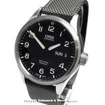 Oris Big Crown ProPilot Day Date Stal 45mm Czarny