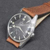 Omega Stål 36,5mm Sort Arabertal
