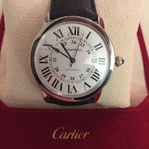 Cartier Ronde Croisière de Cartier Acier 42mm Argent Romain France, nancy