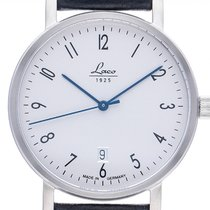 Laco Classic Automatik Stahl 40mm Silber Arabisch
