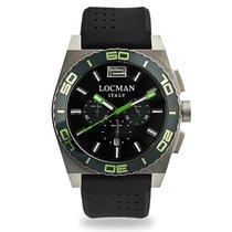 Locman Titanium 44,00mm Quartz 021200KG-BKKSIK new