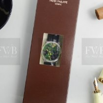 Patek Philippe Calatrava Platinum 38.6mm Green No numerals