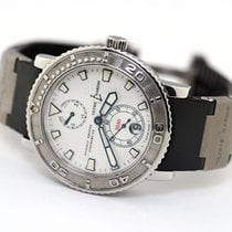 Ulysse Nardin pre-owned Automatic 40mm Silver Sapphire Glass