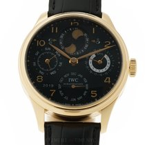 IWC Portuguese Perpetual Calendar Rose gold 44mm Black Arabic numerals United States of America, New York, New York
