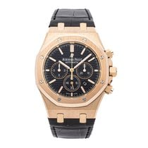 Audemars Piguet Royal Oak Chronograph Rose gold 41mm Black No numerals United States of America, Pennsylvania, Bala Cynwyd
