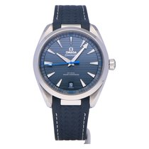 Omega Seamaster Aqua Terra Staal 41mm Blauw Geen cijfers Nederland, The Netherlands